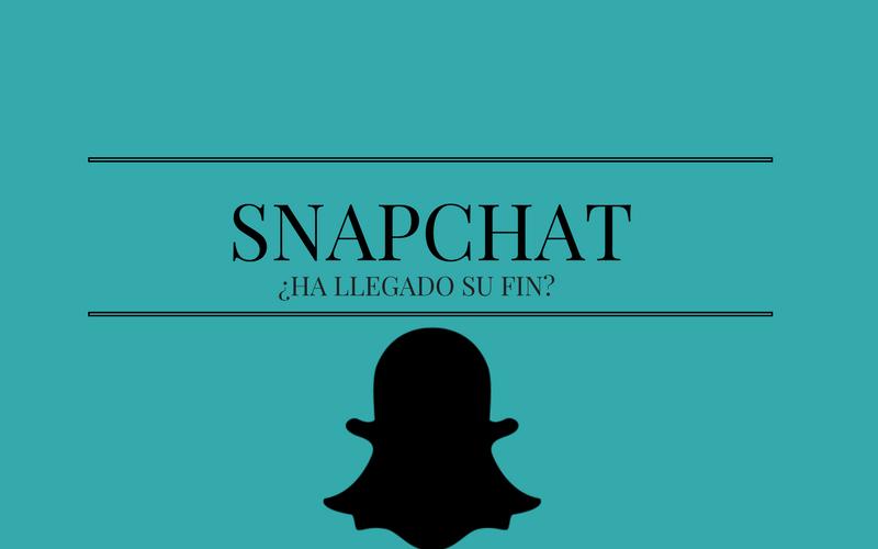 """Snapchat: ¿el final de su """"Story""""?"""
