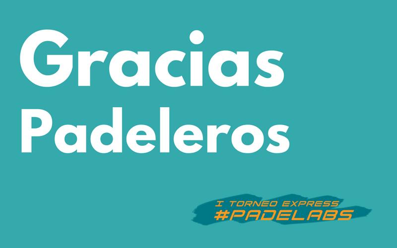 #PADELABS: El I Torneo Express de Pádel de la industria farmacéutica, todo un éxito